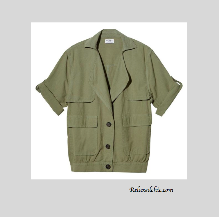 Short Sleeve Military Jacket