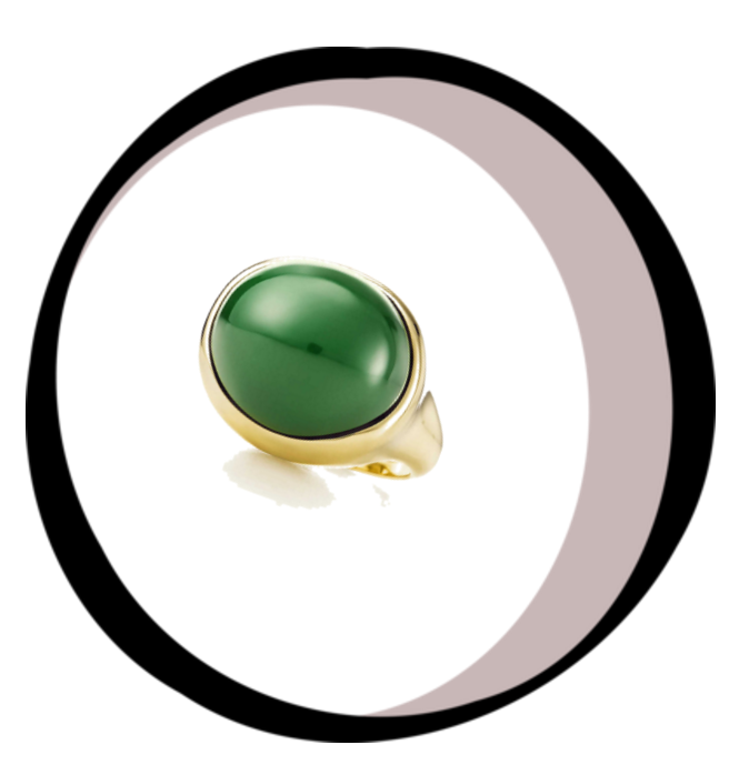 Cabochan Ring