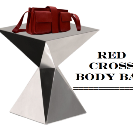 Red Cross Body Bags